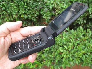Hape Jadul Nokia 6085 Flip Seken Mulus Phonebook 500 Slot MicroSD Camera