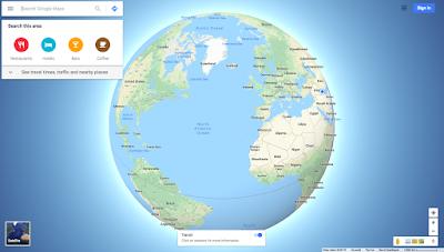 google maps web site