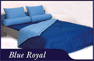 Sprei & Bedcover Shyra Polos - Blue Royal