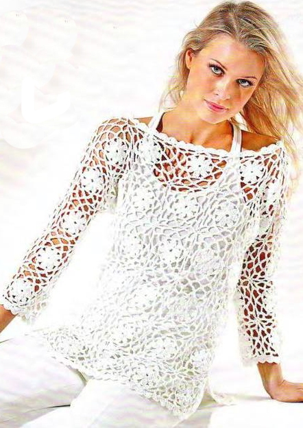 Youtube How How To Crochet A Blouse 9