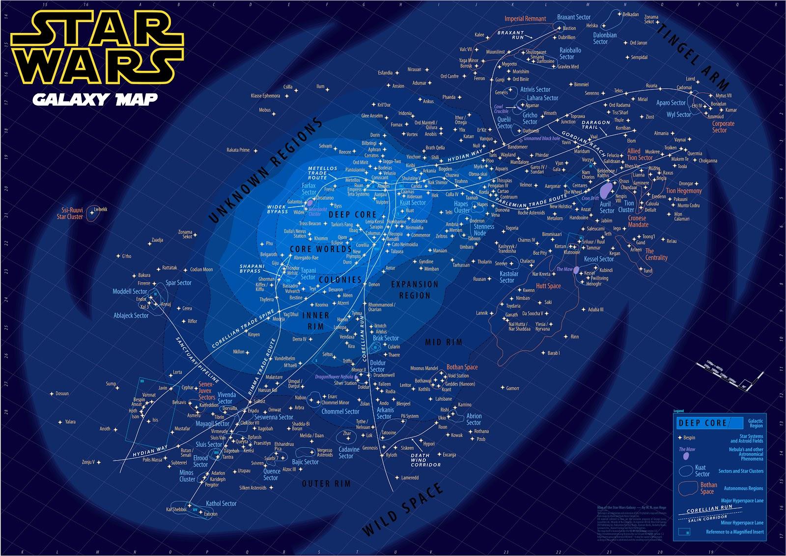 Zanfire's District: Star Wars Galaxy Map (7025x4967 ...