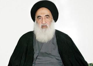 بيان السيد  علي السيستاني