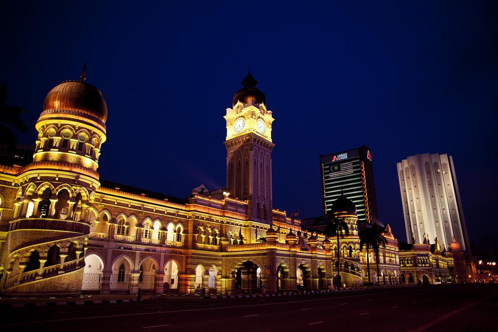 Sejarah Dataran Merdeka Sejarah Bangunan Sultan Abdul Samad