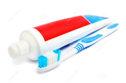 Pasta gigi dan air cuka untuk membersihkan mesin