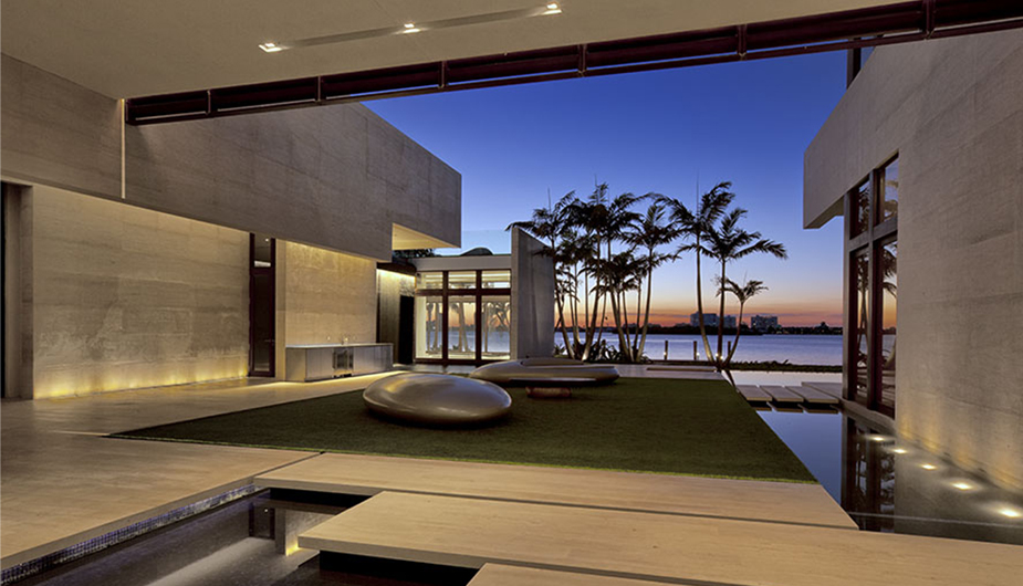 Mansions Amp More Ultra Modern Florida New Build 52 Million