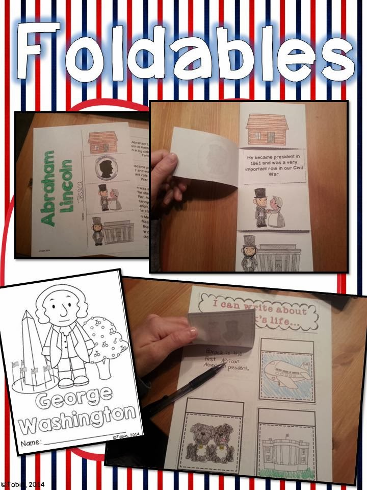 President's Day Activities for primary students- activities, resources, and more for Presidents Day
