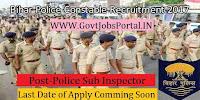 Bihar Police Sub-ordinate Service Commission Recruitment 2017– 1717 Police Sub Inspector