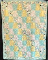 Sheep Dream Precut Baby Quilt Kit
