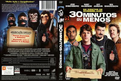 Filme 30 Minutos Ou Menos (30 Minutes or Less) DVD Capa