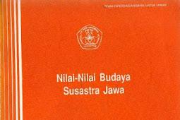 NILAI-NILAI BUDAYA SUSASTRA JAWA