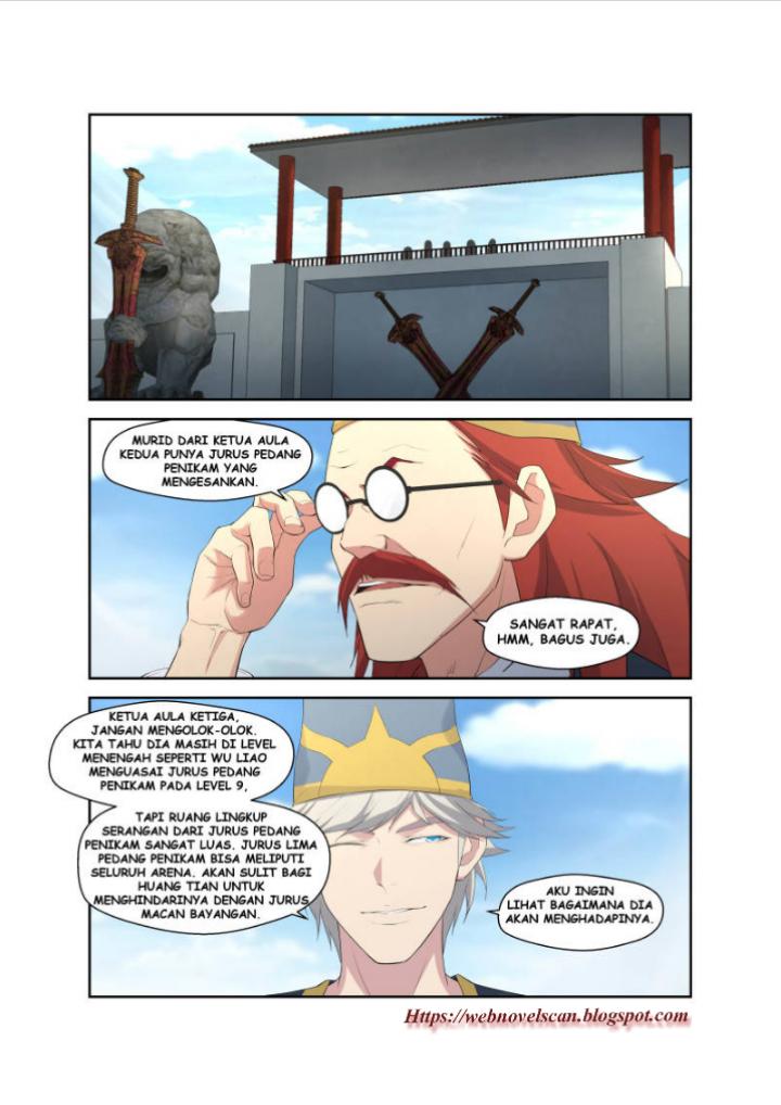 Heaven Defying Sword Bahasa Indonesia Chapter 40