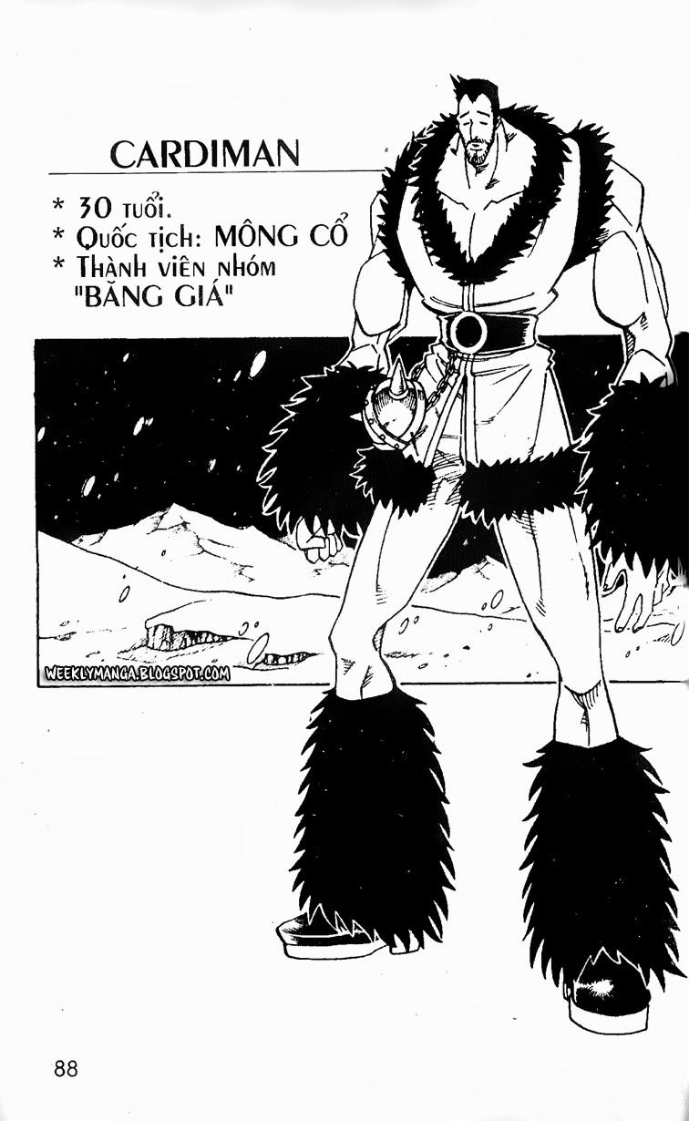 Shaman King [Vua pháp thuật] chap 127 trang 14