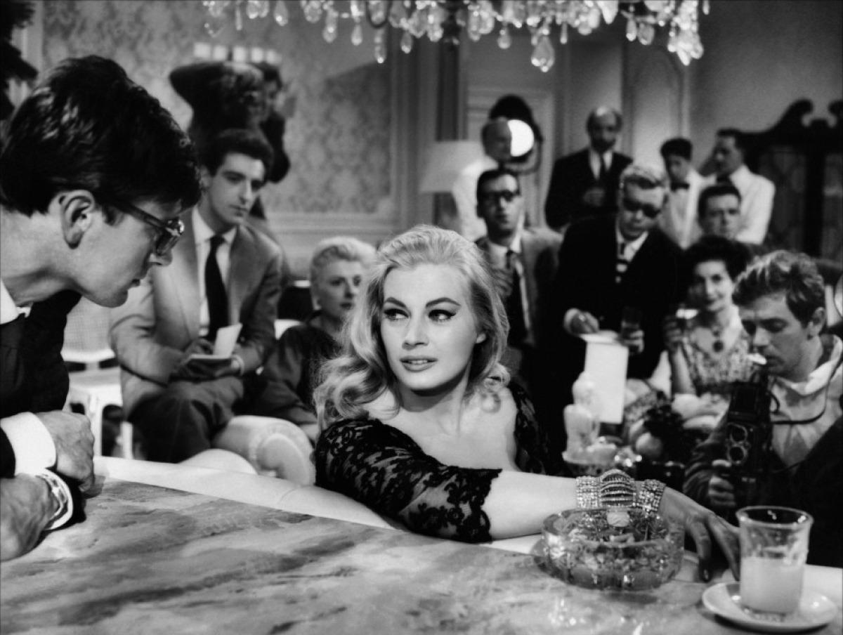Anita Ekberg in the Movie: La Dolce Vita, 1960