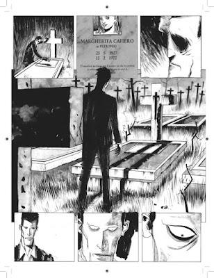 Alfredo e la notte dei morti viventi, tavola 3