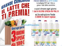Logo Il Latte che ti Premia con 180 buoni spesa da 100 euro