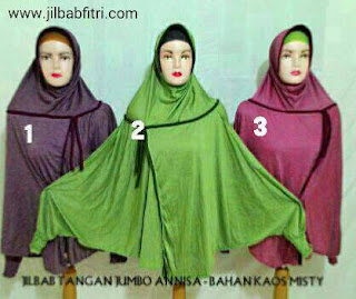 jilbab syar'i tangan panjang jumbo annisa