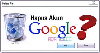ganti akun google