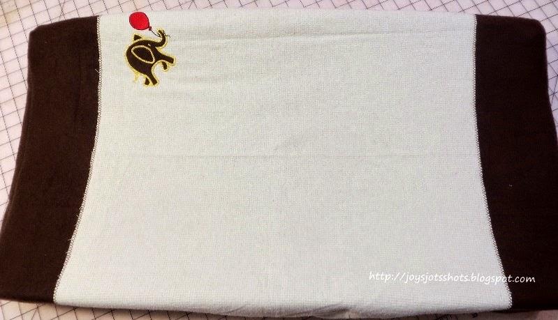 http://joysjotsshots.blogspot.com/2014/05/changing-pad-cover.html