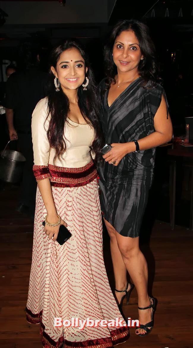 Monali Thalkur and Shefali Shah, Monali Thakur at Lakshmi Movie Music Launch