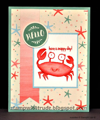 You're sublime, encouragement, friendship, Stampin' Up!, Stamp with Trude, Tuesday Tutorial