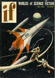 IF Worlds of Science Fiction, maggio 1954, copertina