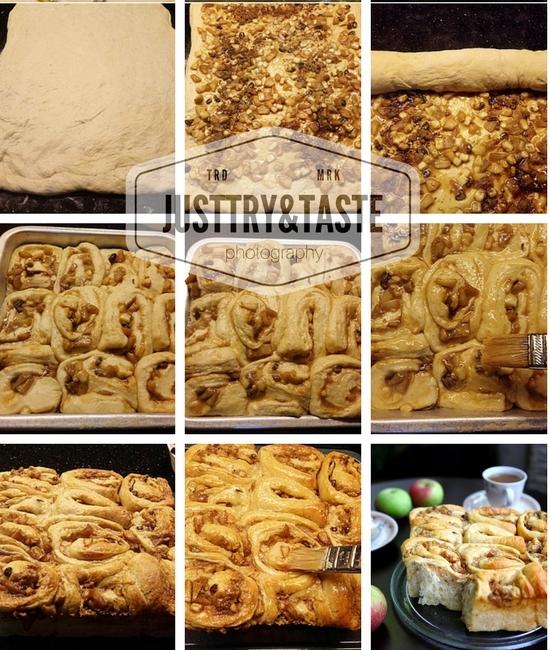Resep Banana Apple Cinnamon Rolls
