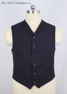 "11th Doctor ""anniversary"" waistcoat sewing pattern"