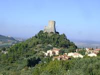 Castiglione-d'Orcia - Rocca-a-tentennano