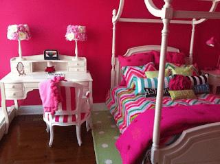 Warna Cat Untuk Kamar Tidur Anak Perempuan