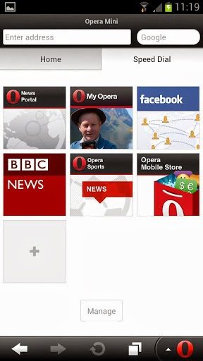 Opera Mini browser for Android Apk v7 5 3 Download Version | azapk
