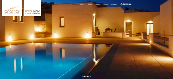 Ionathan Suites Web Site - Koufonissia