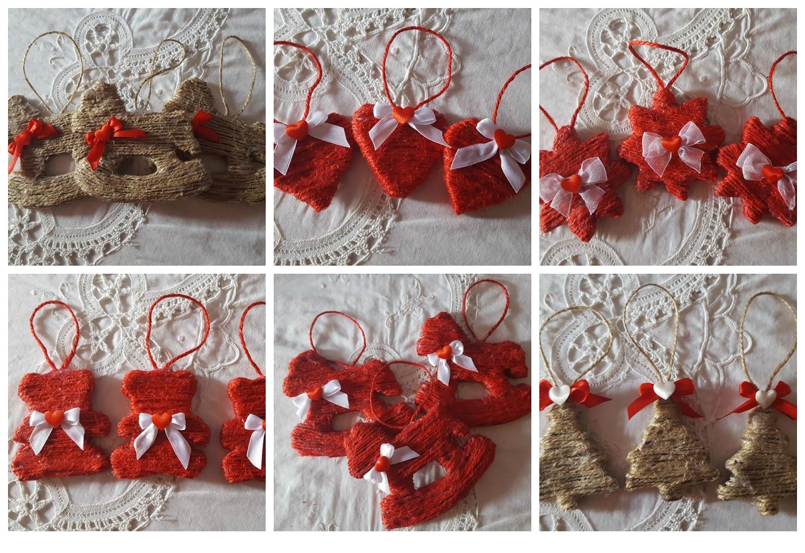 Decorazioni natalizie fai da te con la cartapesta for Decorazioni da tavolo natalizie