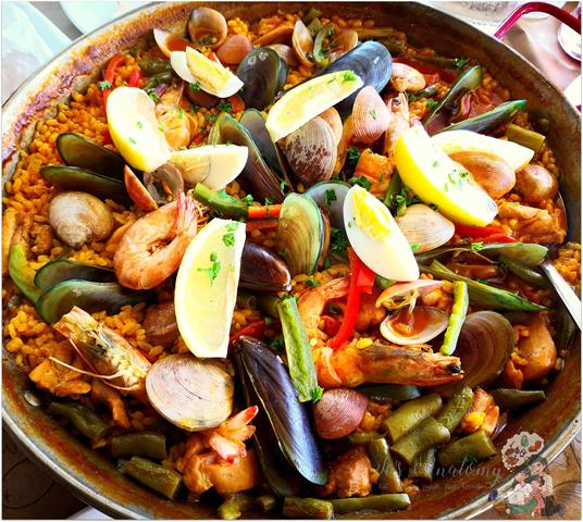 Paella Valenciana from Bursst Grill House by Charaptor at Circuit Makati