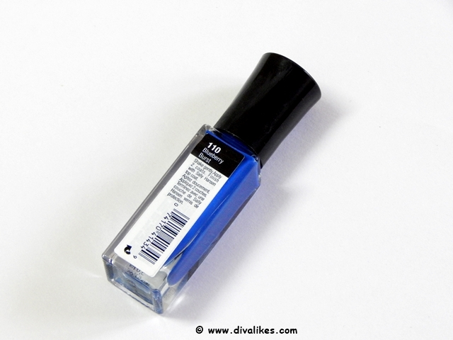 Sally Hansen I Heart Nail Art Neon Nail Color Blueberry Burst Shade