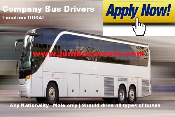 Company bus driver job vacancy in Dubai 2018.. Company Bus driver salary in Dubai.