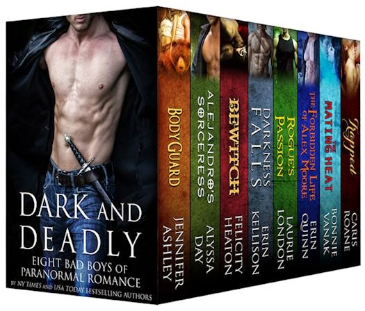 Feature: Dark and Deadly: Eight Bad Boys of Paranormal Romance Boxed Set