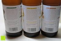 Ino: fariment - 3 Liter Original Bio Kombucha Tee Getränk natürlich fermentiert und nicht pasteurisiert / Rohkost (3er Mix)