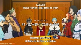 Black Clover Capítulo 130 Sub Español HD