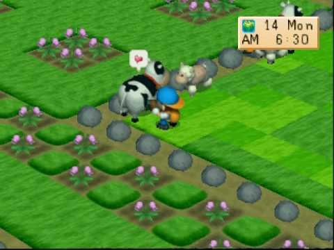 Harvest moon back To Nature manual