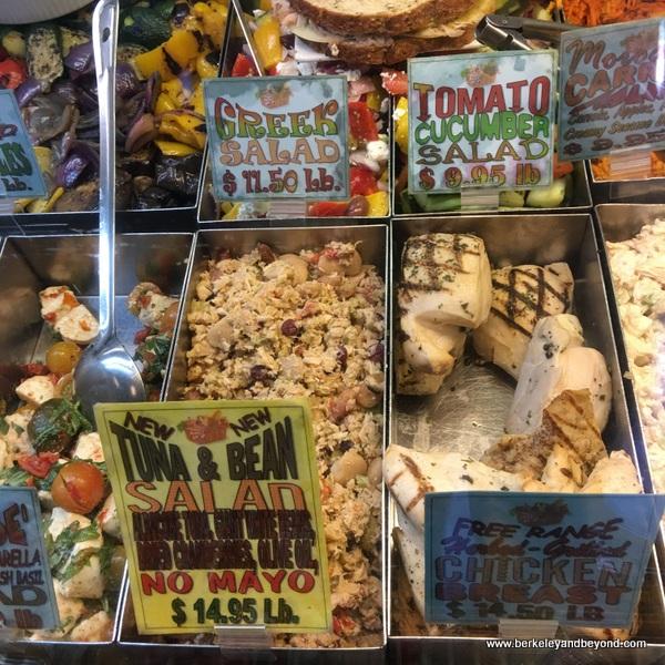 deli case at Malibu Kitchen at Malibu Country Mart in Malibu, California