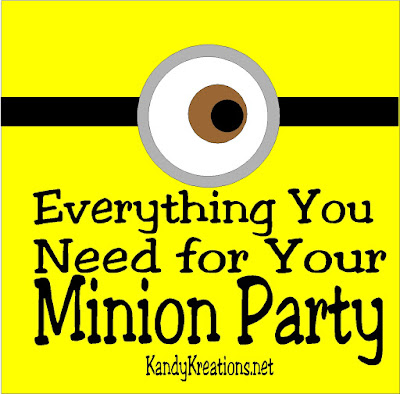Find everything you need for your Minion birthday party or Minion movie viewing party with this fun shopping guide from the small businesses of Etsy. Support a local family and get unique, fun items for your Minion party.