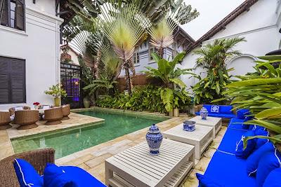 Góc nhiệt đới thu nhỏ giữa lòng Sài Gòn náo nhiệt