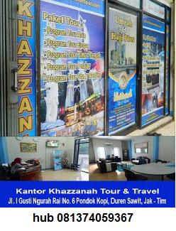 Kantor Pusat Khazzanah Travel