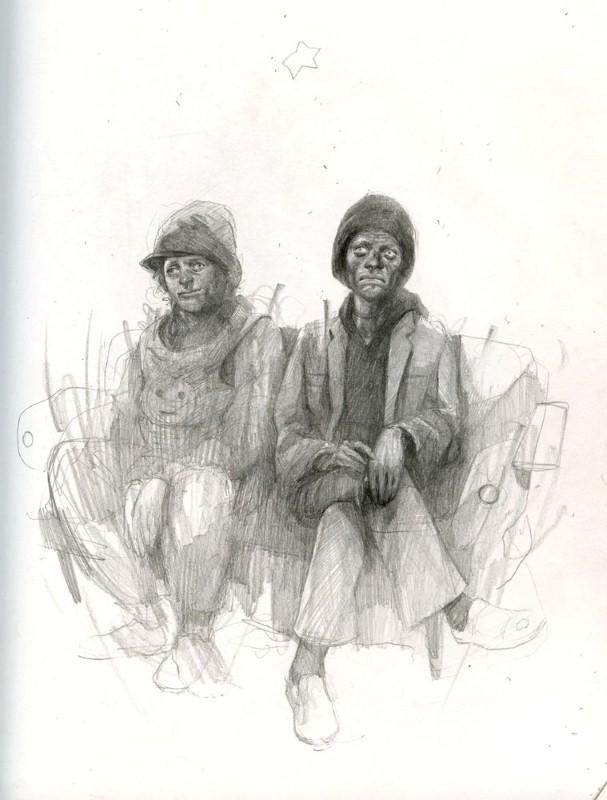 Рисунки Wesley Burt 11
