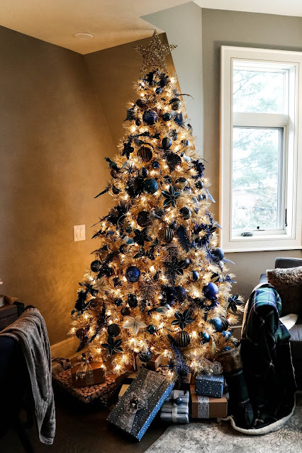Canadian Tire Gold Christmas Tree Inspiration Blue Teal