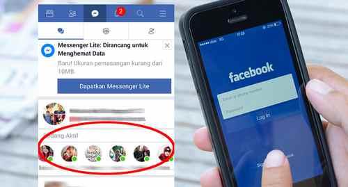 Cara Agar Terlihat Offline di Facebook Lite Android