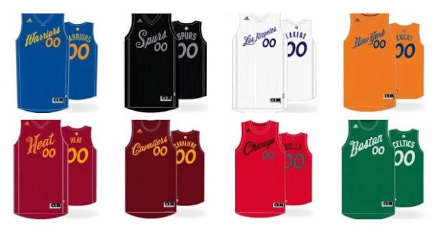 Filtrados los uniformes del Chritsmas Day en la NBA