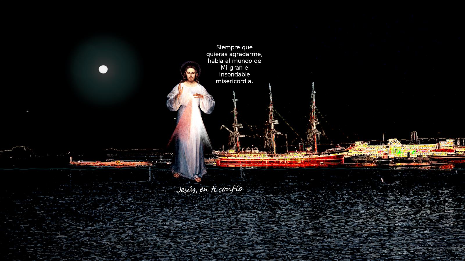 jesus en el mar denoche