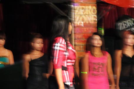 Nightclub fashion show
