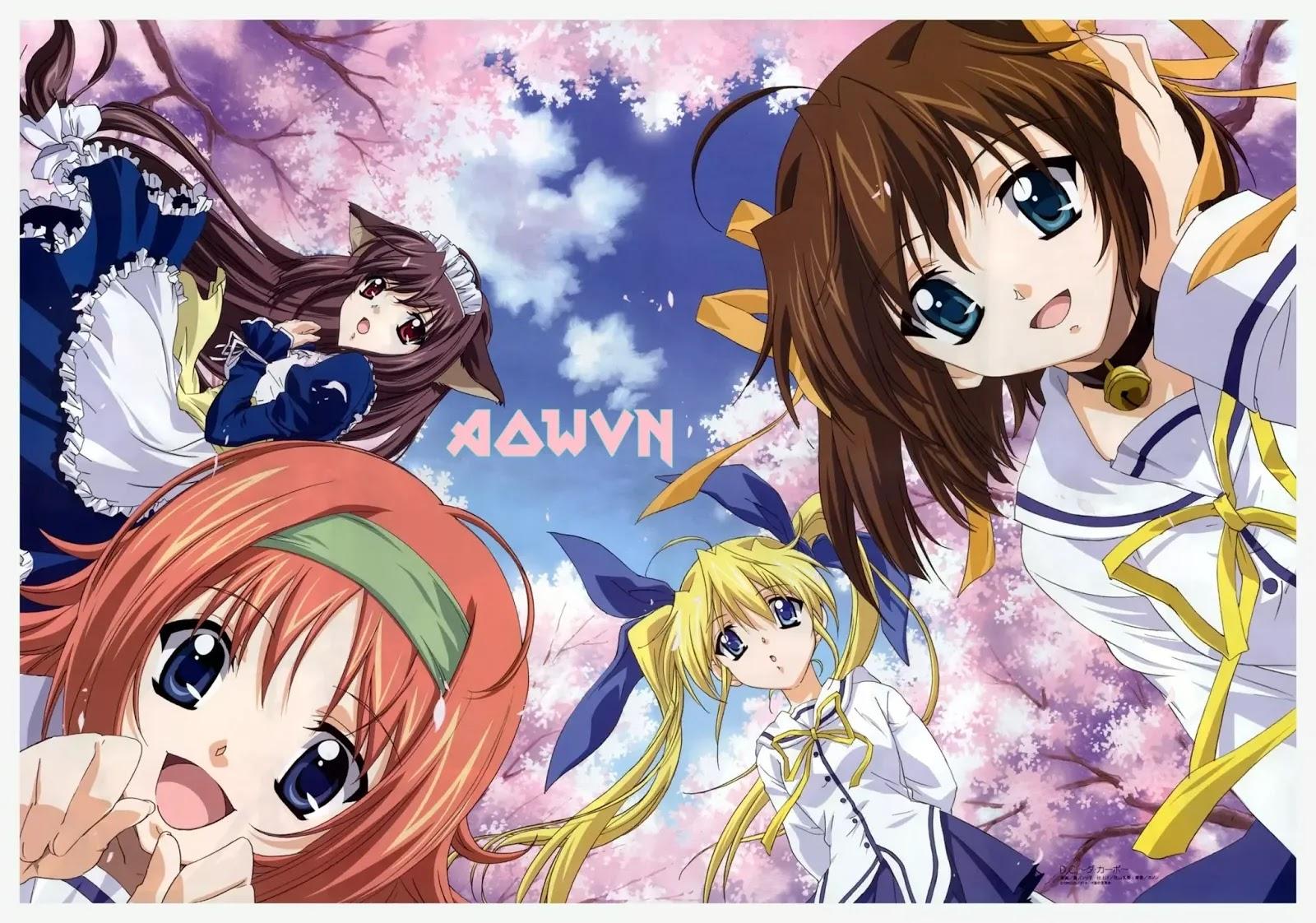 AowVN%2B%25282%2529 - [ Anime 3gp Mp4 ] Da Capo SS1 + SS2 + SS3 + OVA + Special | Vietsub Harem Tình yêu Huyền thoại